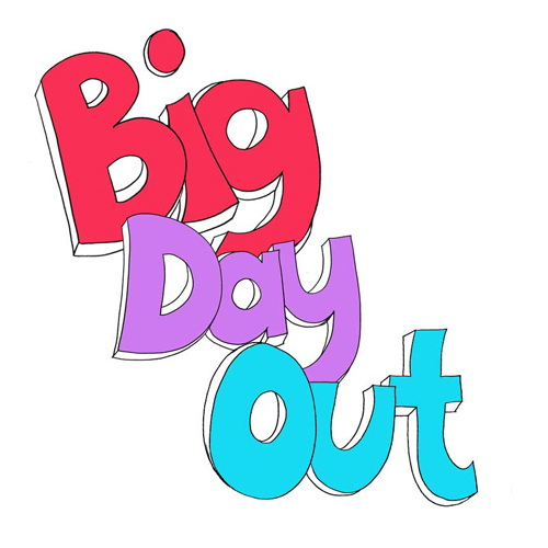 Big Day Out Branding – Characters | Sam Miller UK