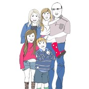 Family Portrait – 5 Characters