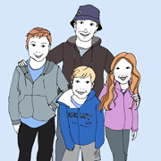 Family Portrait – 4 characters