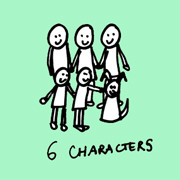 Portrait of 6 Characters