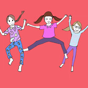 Day 81,82 and 83 – Trampoline Girls