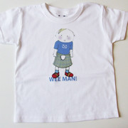 2 Wee Men Tshirts for Carole