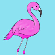 Day 110 – Pink Flamingo